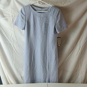 Casper light blue dress